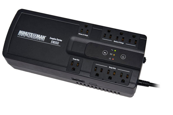 Minuteman EnSpire 550 VA Stand-by UPS with 8 outlets