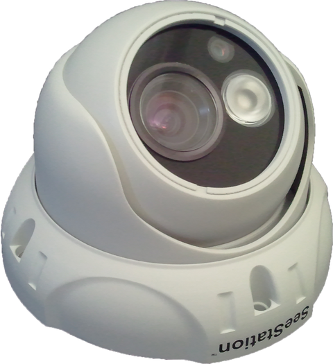 SeeStation CIP2135IF9ABG IP Dome Camera 1.3MP IR POE ONVIF - PAM Distributing Co