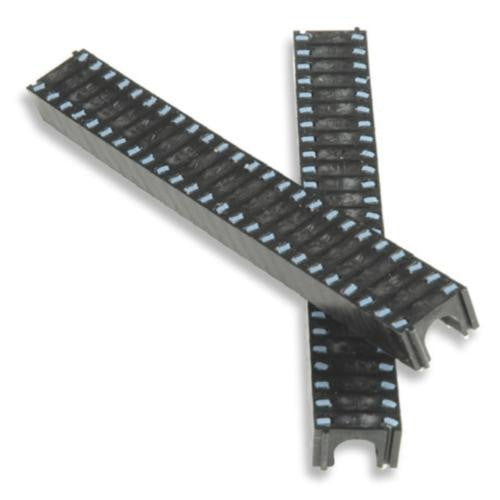 TELECRAFTER 06ES Cable Clip / STAPLE For Single RG 6 Cable 400ea Black - PAM Distributing Co - 3