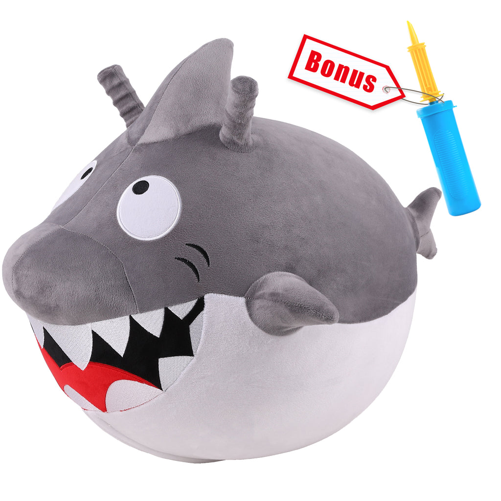 Bouncy Pals Kids Shark Hopper Ball Animal Toy