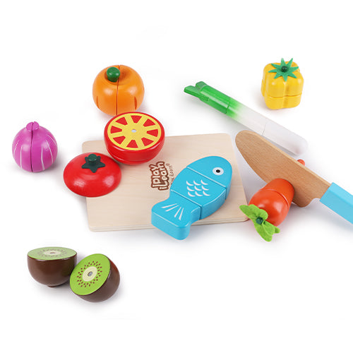 Cutting & Cooking Toy Pretend Play Kitchen Set Toy