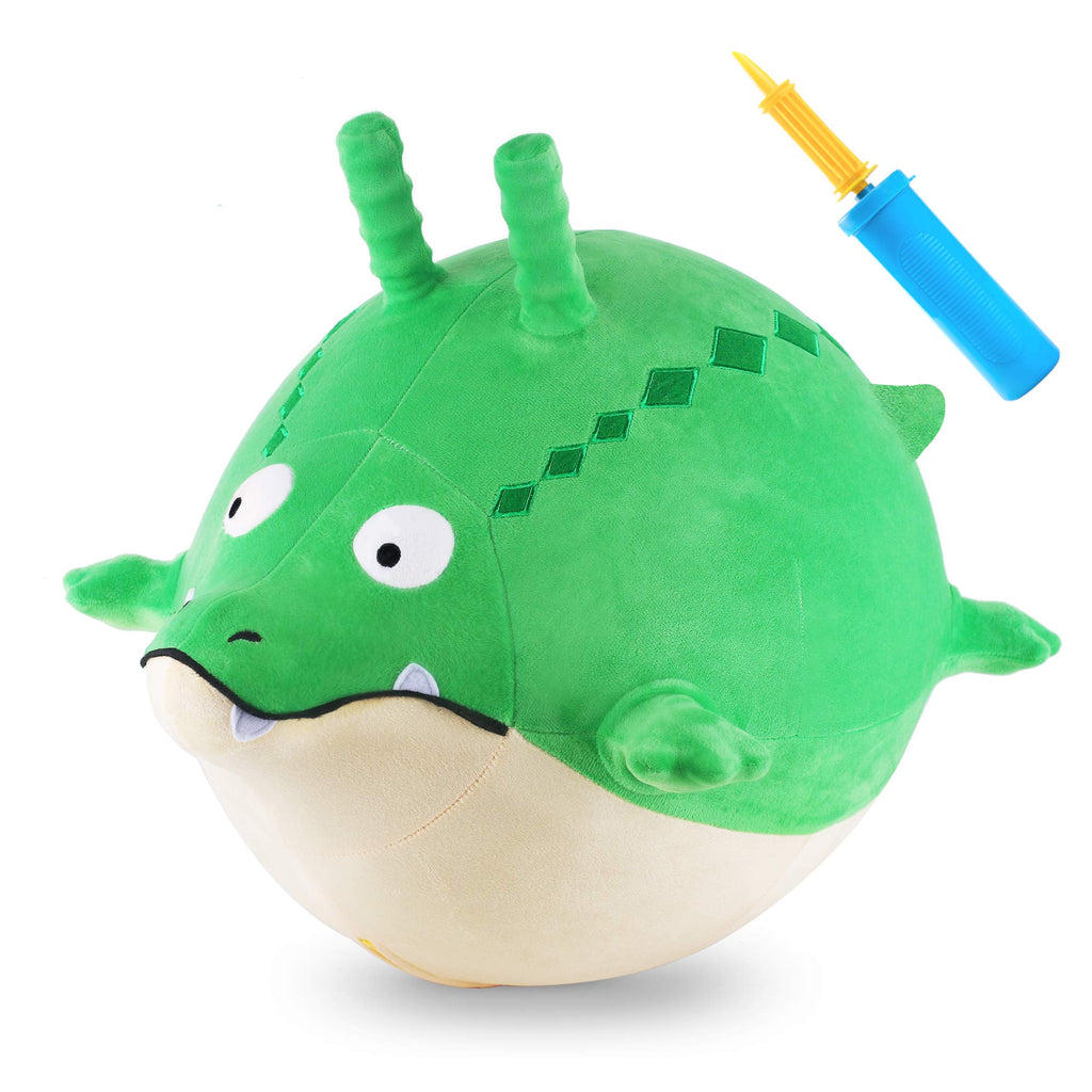 Bouncy Pals Plush Gator Ball Hopper Animal Hop Ball