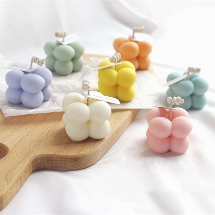 Wax Mini Cube Candles