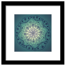 Load image into Gallery viewer, Harvest Moon Mandala (Twilight)