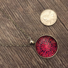Load image into Gallery viewer, Red Amaris Pendant - Medium
