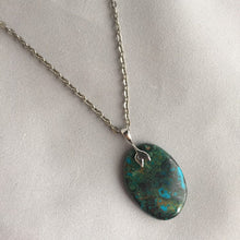Load image into Gallery viewer, Chrysocolla Pendant