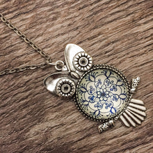Load image into Gallery viewer, Luna Owl Pendant