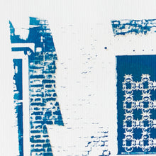 "Load image into Gallery viewer, ""Gondoliere"" - bi-color cyanotype 21 x 28 cm"