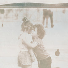 "Load image into Gallery viewer, ""Finding True Love"" no. 3 - bi-color cyanotype 24 x 32 cm"