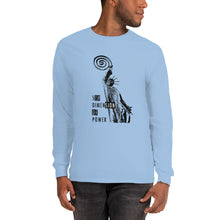 Load image into Gallery viewer, Men's Long Sleeve Shirt - the 5th Dimension of power