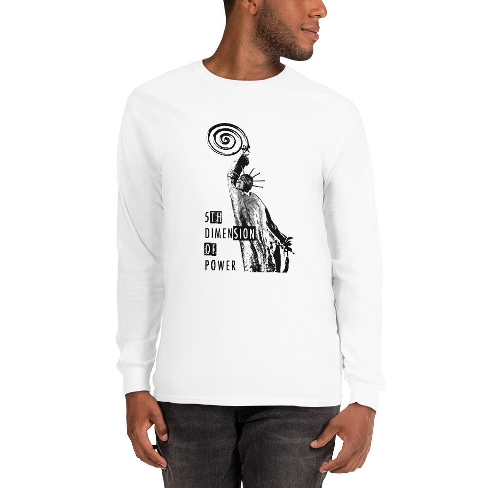 Men's Long Sleeve Shirt - the 5th Dimension of power