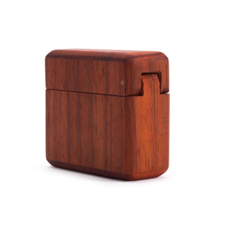 Minimalist Wood Ring Case
