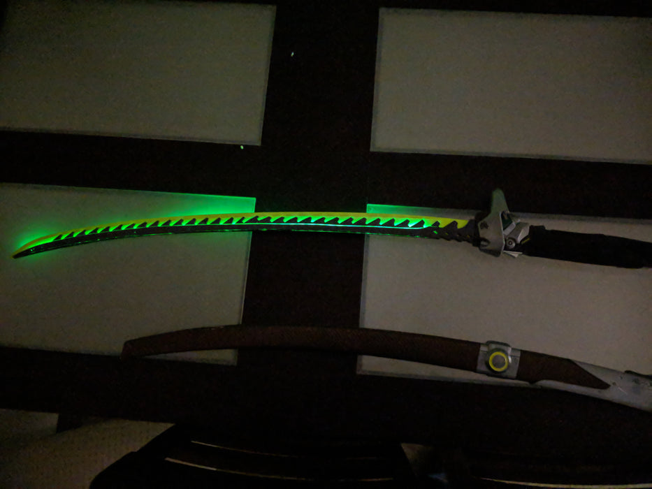 Overwatch - Genji's Dragon Sword with LED