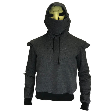 Fire and Steel - Knight Armour Hoodie
