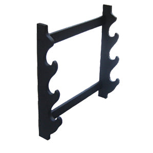 Fire and Steel - Triple Wall-Mounted Sword Stand