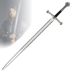 "Lord of the Rings - Aragorn's ""Anduril"" Sword (LARP Friendly)"
