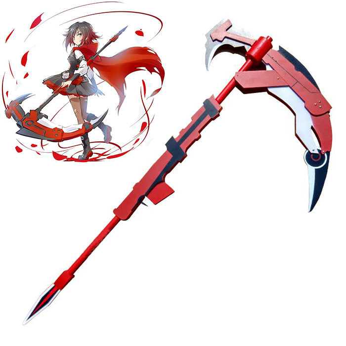 "RWBY - Ruby Rose's ""Crescent Rose"" Scythe (Wood)"