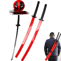 Marvel Deadpool - Deadpool's Swords (Pair, Red Variant)
