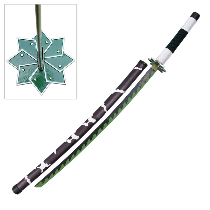 Demon Slayer - Sanemi Shinazugawa's Green Nichirin Blade