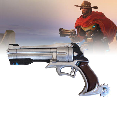 Overwatch - McCree's Peacekeeper Gun (LARP friendly)