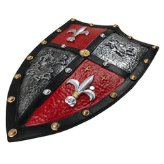 Fire and Steel - Fleur-de-Lis Heater Shield (High Density Foam)