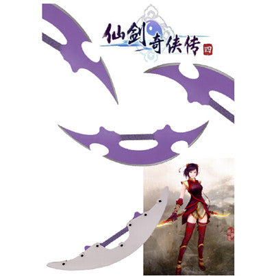 Legend of the Sword and Fairy 4 - Han Lingsha's Crescent Blade