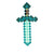 Minecraft - Diamond Sword (LARP Friendly)