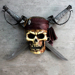 Pirates of the Caribbean - Skull with Two Sabres