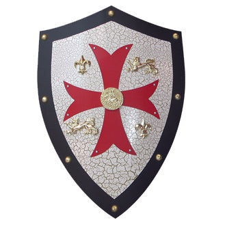 Fire and Steel - Knights Templar Heater Shield