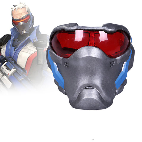 Overwatch - Soldier: 76's Mask (LARP friendly)