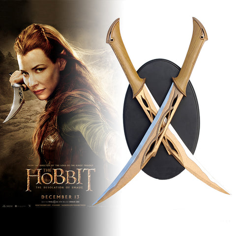 The Hobbit - Tauriel's Elven Short Swords