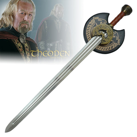"Lord of the Rings - King Theoden's ""Herugrim"" Sword"