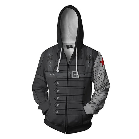Marvel Avengers - Winter Soldier Hoodie