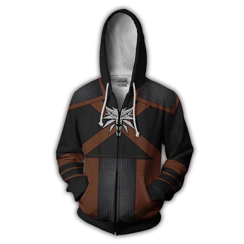 The Witcher 3: Wild Hunt - Geralt of Rivia Hoodie