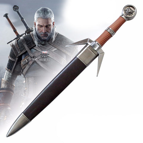 The Witcher 3: Wild Hunt - Geralt's Silver Sword (Dagger Miniature)