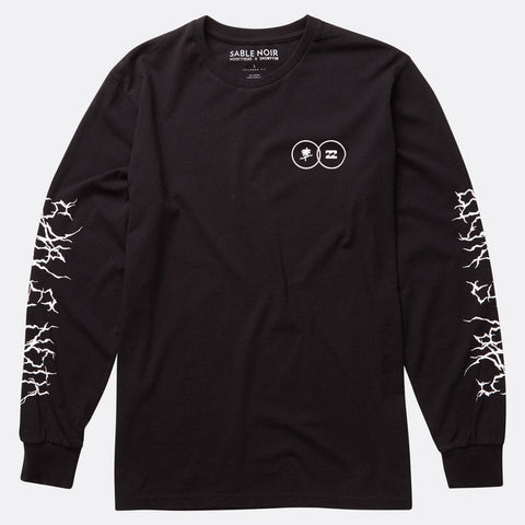 Sable Noir - TEE LONG SLEEVE LIGHTING