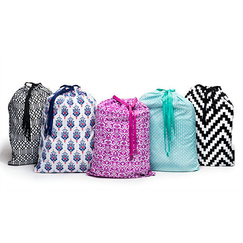 Anything Goes Printed Drawstring Set