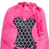 Ooh La La Lingerie Bag - Hot Pink/Trellis
