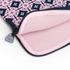 Pretty Printed Laptop Sleeves - Floral Navy and Pink
