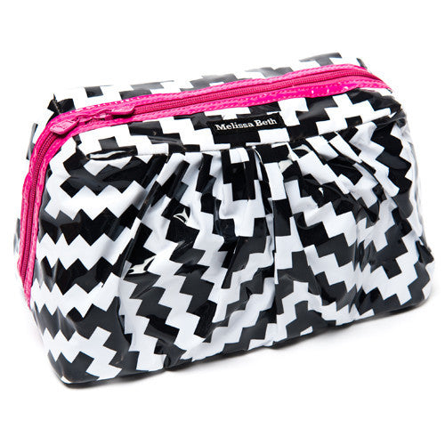 Pretty Pleats Cosmetic Case - ZigZag