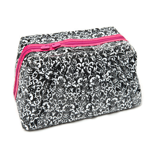 Pretty Pleats Cosmetic Case - Hot Pink
