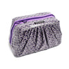 Pretty Pleats Cosmetic Case - Kazoo Purple