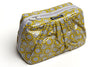 MINI Pretty Pleats Cosmetic Case  - Yellow Flower