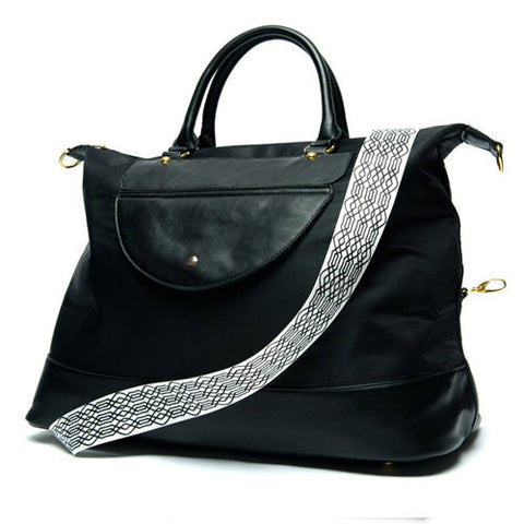 JetSetter Weekend Bag - Midnight Black