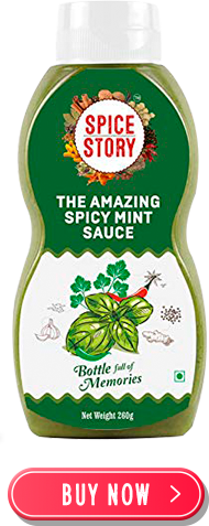 Spicy Mint Sauce