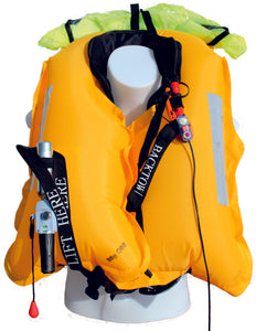 Inflated 170N BackTow inflatable PFD