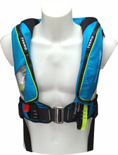 Load image into Gallery viewer, 170N BackTow inflatable PFD in blue