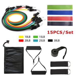 Resistance Bands Set with Door Anchor