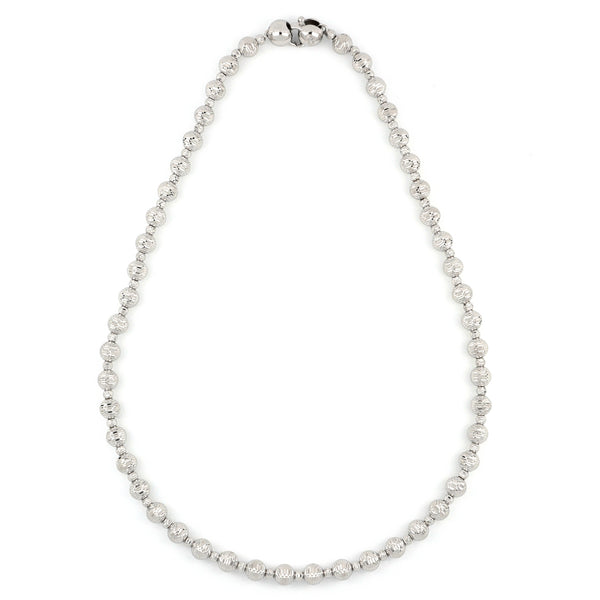 Atena Alternate Small Spheres Necklace