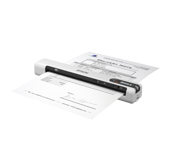 Epson® DS-80W Wireless Portable Document Scanner